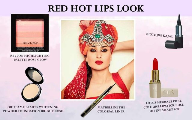 Red Hot Lips Look