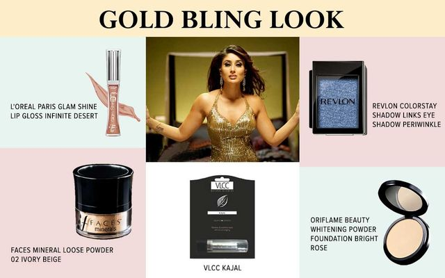 Gold Bling Look