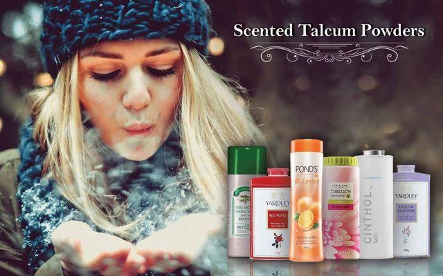 Scented Talcum Powders