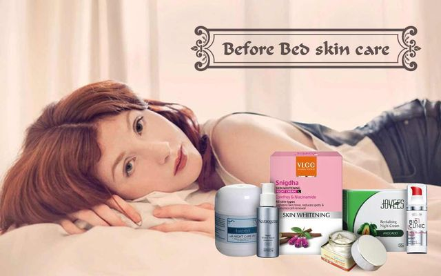 Before Bed Skin Care