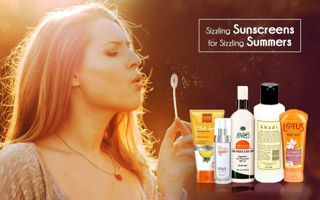 Sizzling Sunscreens