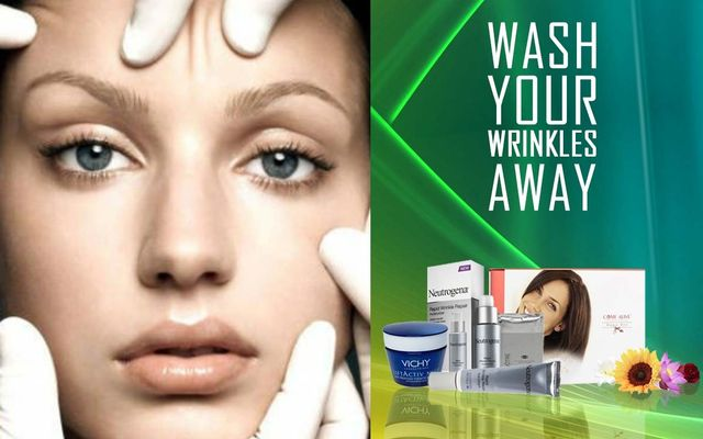 Wash Your Wrinkles Away