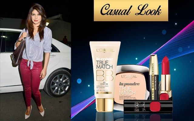 Get The Look: Red Lips With Casual Outfit