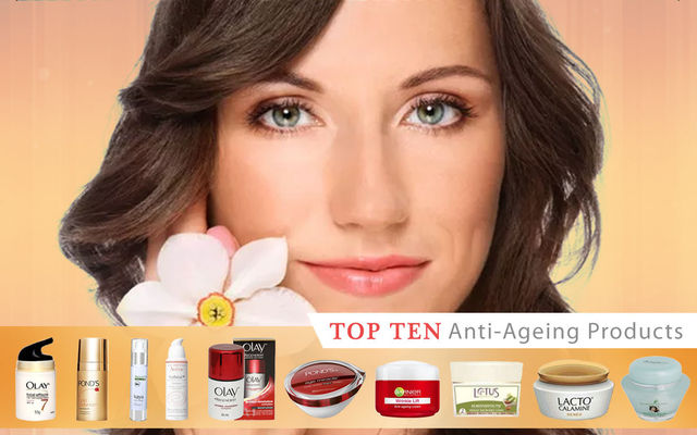 Top 10 Anti-Ageing Products