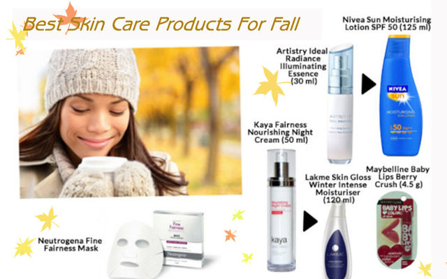 Best Skin Care Products For Fall
