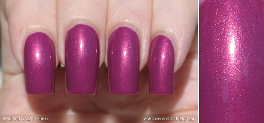 Nail Art With Mauve-er And Shaker