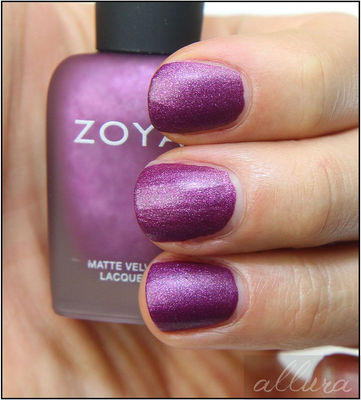 Nail Art With Mauve Attraction
