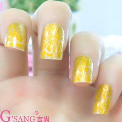 Nail Art With Hello Yellow