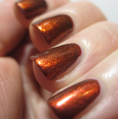 Nail Art With The Girl In Maroon