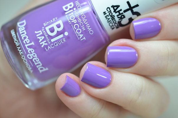 Nail Art With Purple Nail Swag