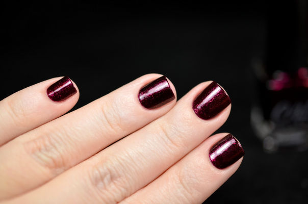 Nail Art With It's Mauve-licious