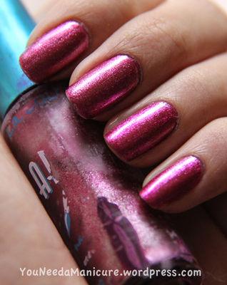 Nail Art With Pink-A-Licious