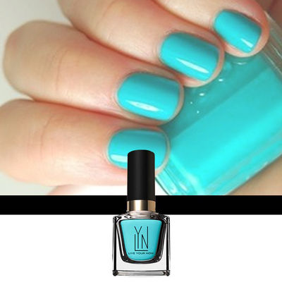 Nail Art With Teal Me More