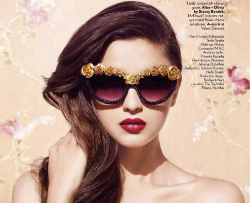 Alia Bhatt: Plum-tastic!