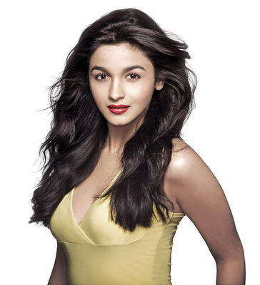 Alia Bhatt: Fresh Red