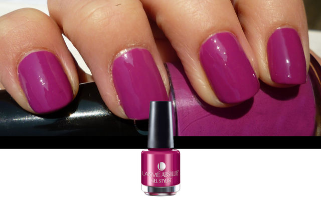 Nail Art With Mauve Passion