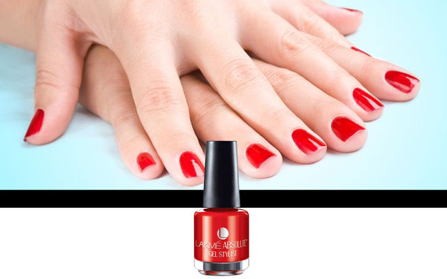 Nail Art With Red Lush