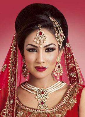 Outstanding Bridal Look