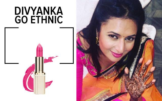 Divyanka's Lipstick Love