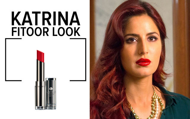 Katrina: Red Lip In Fitoor