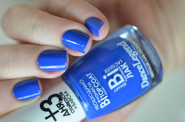 Nail Art With  Spoil Me Blue