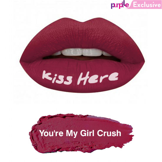 Buy Stay Quirky Liquid Lipstick Purple You're My Girl Crush 9-Purplle