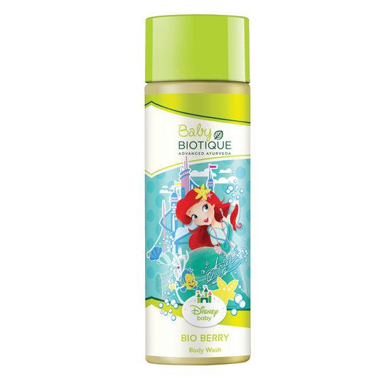 Buy Biotique Disney Baby Ariel Bio Berry Body Wash (190 ml)-Purplle