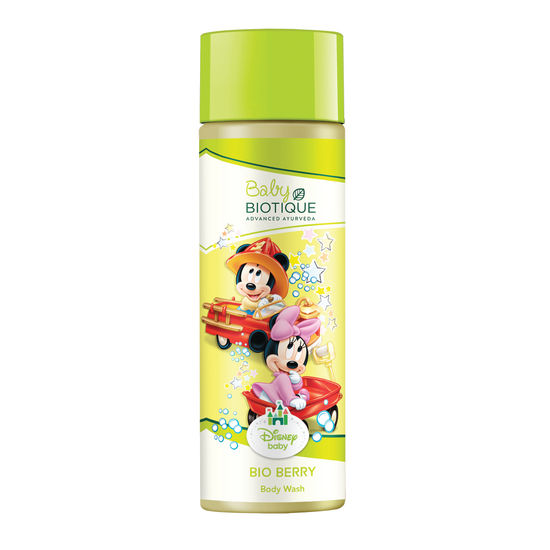 Buy Biotique Disney Baby Bio Berry Body Wash (190 ml)-Purplle