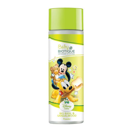Buy Biotique Bio Basil & Sandalwood Mickey Powder (150 g)-Purplle