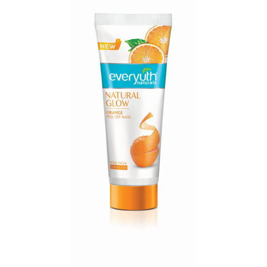 Buy Everyuth Nautrals NATURAL GLOW Orange Peel Off Mask (90 g)-Purplle