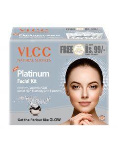 Buy VLCC Platinum Facial Kit (60 g)-Purplle