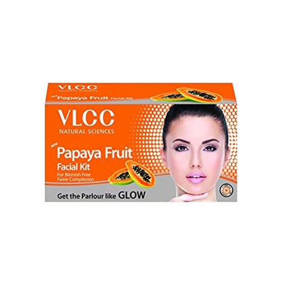 Buy VLCC Papaya Fruit Facial Kit-Purplle