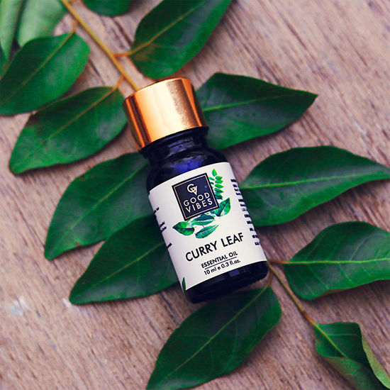 Buy Good Vibes Pure Essential Oil - Curry Leaf (10 ml)-Purplle
