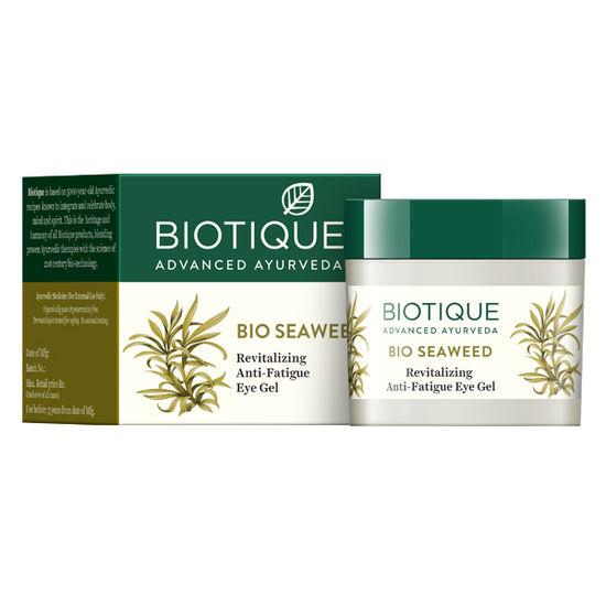 Buy Biotique Bio Seaweed Revitalizing Anti Fatigue Eye Gel (15 ml)-Purplle