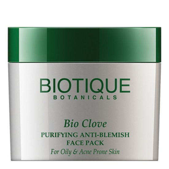 Buy Biotique Bio Clove Purifying Anti- Blemish Face Pack (75 g)-Purplle