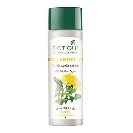Buy Biotique Bio Dandelion Ageless Visibly Serum (190 ml)-Purplle