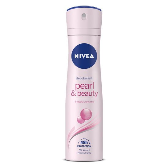 Buy NIVEA Deodorant, Pearl & Beauty, Women, 150ml-Purplle