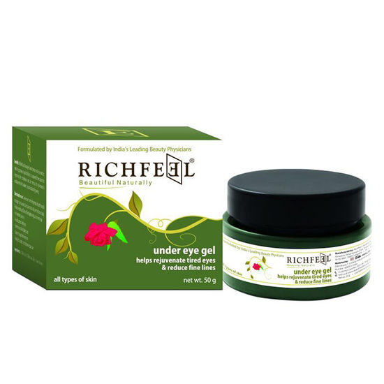 Buy Richfeel Under Eye Gel (50 g)-Purplle