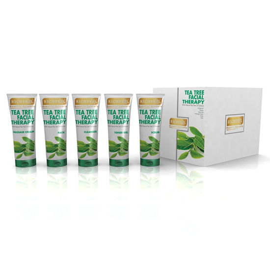 Buy Richfeel Tea Tree Facial Therapy (125 g)-Purplle