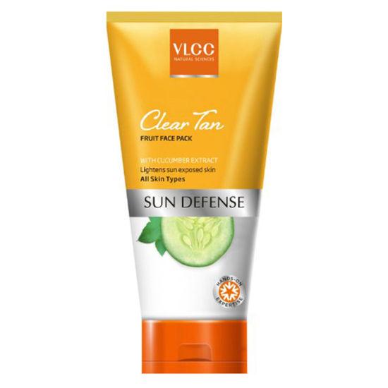 Buy VLCC Clear Tan Fruit Face Pack (100 g)-Purplle
