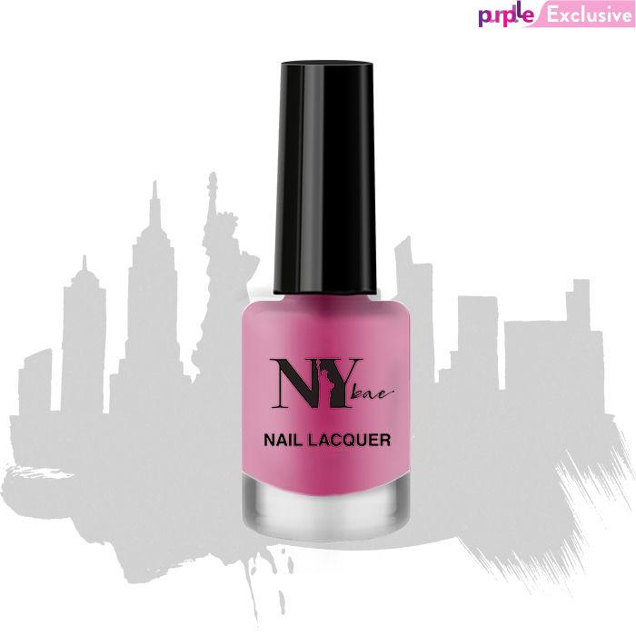 NY Bae, Matte, Nail Lacquer Pink - Macaroon 10