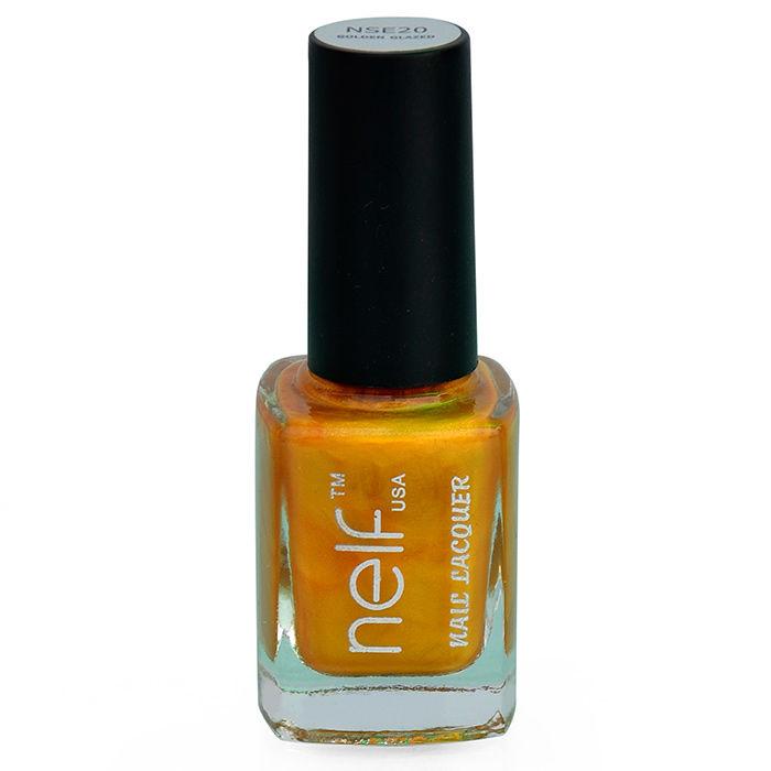 Buy NELF USA Golden Glazed Nail Polish (9.5 ml)-Purplle