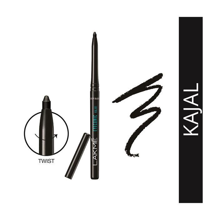 Buy Lakme Eyeconic Kajal Black (0.35 g)-Purplle