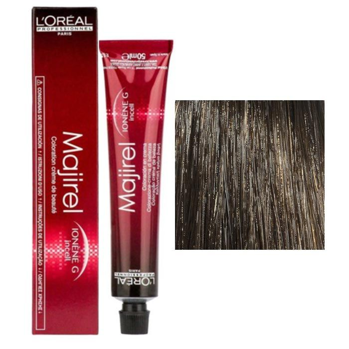 Buy L'oreal Professionnel Majirel- 6 (Dark Blonde) (49.5 g) Beauty Colouring Cream-Purplle