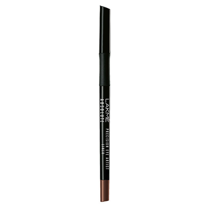 Buy Lakme Absolute Precision Artist Eye Liner Burnished Brown (0.35 g)-Purplle