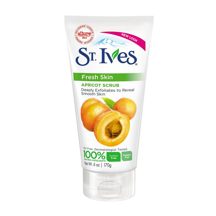 Buy ST. Ives Fresh Skin Apricot Face Scrub (170 g)-Purplle
