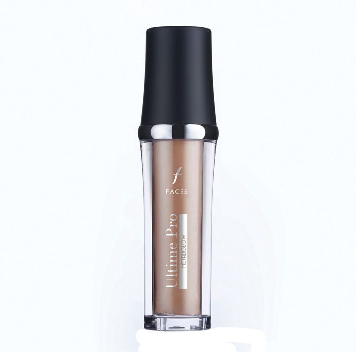 Buy FACES Ultime Pro Metaliglow Champagne 02 (15 ml)-Purplle