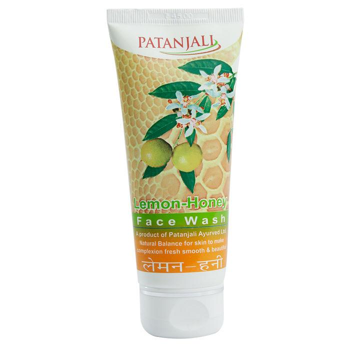 Buy Patanjali Lemon Honey Facewash (60 g)-Purplle