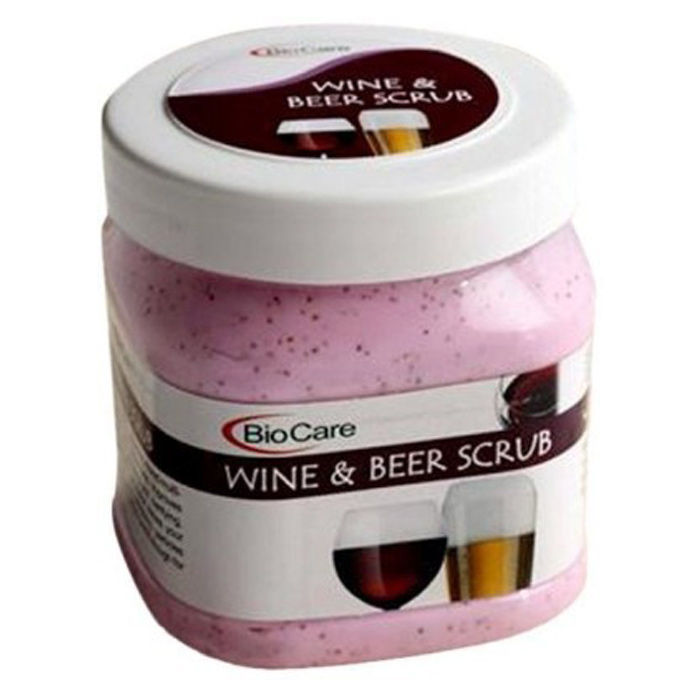 Buy Biocare Wine And Beer Scrub (500 ml)-Purplle