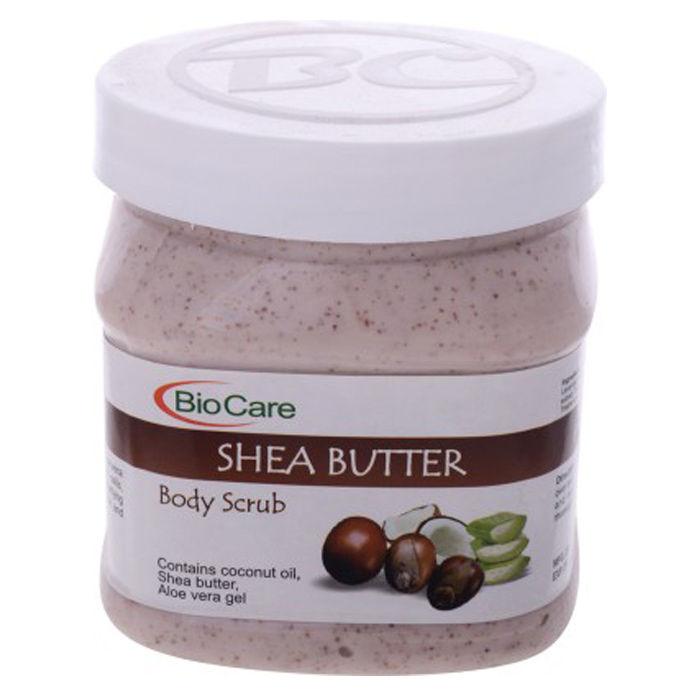 Buy Biocare Shea Butter Scrub Enriched Scrub (500 ml)-Purplle